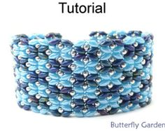 Tutorial Pattern For Beaded Sunflowers Daisy Chain by SpinPlanet