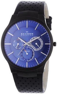 Skagen Men's Watch 809XLTBLN Skagen. $144.99. Case Diameter - 40 MM. Save 22% Off!