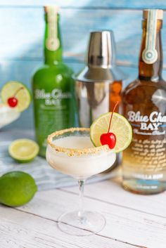 My My My let's have a cocktail for dessert! This easy, three ingredient drink recipe is a great alternative for key lime pie. Rim martini glass with crushed graham crackers. Shake all ingredients together with ice, and strain into martini glass. Garnish with a lime wheel and a cherry. Now, time to cook up a real good tan. #bluechairbay #keylimerumcream #BCBHappyHour Rum Cocktail Recipes, Alcohol Drink Recipes, Cocktail Drinks, Alcoholic Drinks, Cocktails, Key Lime Rum Cream, Key Lime Pie, Graham Cracker Crust, Graham Crackers