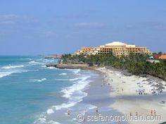 Varadero Beach, Cuba---Mike and I were married in the white gazebo out on the point! Jan 5, 2006.