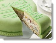 Cassata Cake is a traditional Italian Easter Cake (it has a cannoli-like filling).