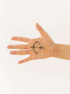 Sagittarius by Danielle Kroll for Tattly Temporary Tattoos.
