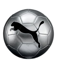 Take a look at this Silver Black USA Key Account Big Cat II Soccer Ball by PUMA on #zulily today!