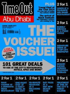 The Voucher issue. 101 great deals to use at the City's Restaurants, Hotels, Spa's and more...