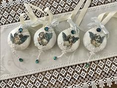 Victorian Lace, Linens, Decoupage, Ornaments, Gifts, Inspiration, Beautiful, Biblical Inspiration, Bedding