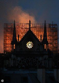 Notre Dame fire: Smoke billows out of historic cathedral in Paris Tour Eiffel, Famous Catholics, St Louis, York Minster, Gothic Cathedral, The Great Fire, The Two Towers, Old Paris, Windsor Castle