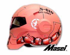Masei 610 Zaku Matt Pink Motorcycle Bike Open Face Helmet #MaseiHelmet Open Face Motorcycle Helmets, Pink Motorcycle, Open Face Helmets, Chopper Helmets, Star Troopers, Iron Man Helmet, Graffiti Pictures, Custom Helmets