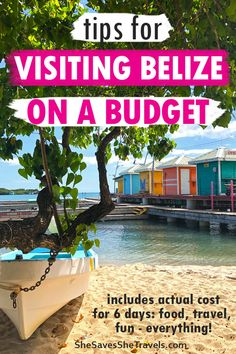 Your guide to a Belize vacation on a budget. Includes top things to do in Belize, best places to stay in Belize and the how much a week in Belize can cost. Bonus - exactly how to save money on your trip to Belize! Belize Honeymoon, Belize Vacations, Belize Travel, Mexico Travel, Mexico Vacation, Family Vacation Destinations, Travel Destinations, Vacation Deals, Family Vacations