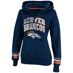 Denver #Broncos Women's Pre-Season Favorite Pullover Hooded Fleece. Click to order! - $54.99