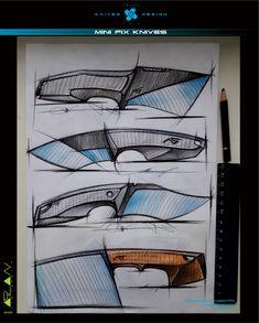 mini fix knives / Knives & Design / design Aslan Zhanabayev