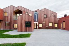 Forty projects shortlisted for the 2015 Mies van der Rohe Award | Childrens Home of the Future in Kerteminde, Denmark by CEBRA. Photo: Mikkel Frost | Bustler