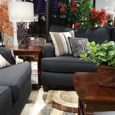 Love denim and pattern? Get this look with items from @afwonline at The Happy Home Therapist! | #design #interiordesign #interiordecorating #affordabledesign #budgetdesign #thehappyhometherapist