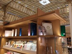 more of the recently renovated paper section at bon marche...