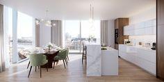 Jedáleň Roundup: 30 elegantný dizajn pre akýkoľvek štýl