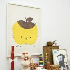 Image of Affiche Apple Papple