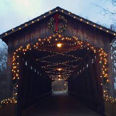 Covered Bridge in Ada, Michigan