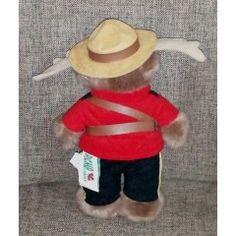 Vintage Toys - Vintage R. P / Royal Canadian Mounted Police Moose Mascot. for sale in Vereeniging Vintage Toys, Moose, Police, Old Fashioned Toys, Mousse, Law Enforcement, Elk, Old School Toys