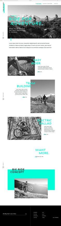 Big Ride, Web Design, Easy Rider, Service Design, Concept, Studio, Design Web, Studios, Website Designs