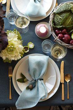 Thanksgiving Table Inspiration Image via Martha Moments
