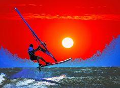 Windsurf Surréaliste