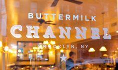 great id/branding  http://gabrielewilson.com/projects/identities/buttermilk-channel-restaurant#