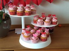 Love Cupcakes voor een verlovingsfeest