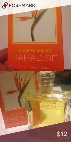 MARILYN MIGLIN Marilyn Miglin PARADISE Eau de Parfum..  Like new !!! It smells nice but not for me!! Marilyn Miglin Other