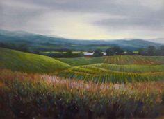 Fly Creek Evening by Deborah Angilletta Oil ~ 18 x 24