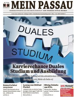 Alle 14 Tage neu; die Zeitung für Passau Social Security, Content, Personalized Items, Cards, Passau, Newspaper, Training, Career, Things To Do