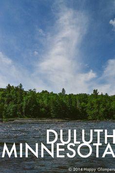 Glamping road trip to duluth minnesota