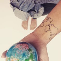 Best travel tattoos - tattoo design ideas if you love travelling | Glamour UK