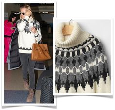Sweaters for women, as worn by celebrities, from $55USD. Reese Witherspoon, Taylor Swift, Diane Kruger are wearing sweaters from Gap, Talbots, 525 American.