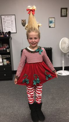 About cindy lou who costume on pinterest cindy lou who cindy lou