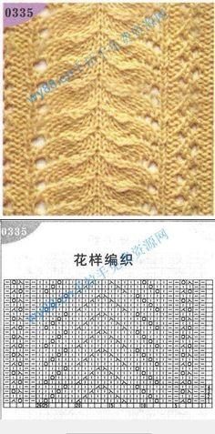 Lace Knitting Patterns, Knitting Charts, Knitting Stitches, Crochet Chart, Crochet Baby, Knit Crochet, Diy And Crafts, Knitting Patterns, Knitting And Crocheting