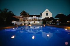 Cape Dutch, Cape Town, Night Time, Wedding Reception, Catering, Villa, Outdoor Decor, Marriage Reception, Catering Business