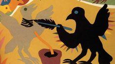An illustration from Beautiful Blackbird (2003).