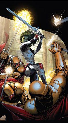 Gamora ( Gardiens de la Galaxie ) // Marvel // Comics