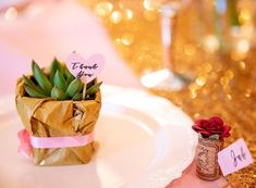 It's not a party without a favor or a place card. These succulent favors and wine cork place cards were the perfect table details and practical favors.  Everyone could use a wine cork 🍷 and a little plant 🌸 . . Swipe for another great favor!  Nothing is better then a treat 🦒 🍪 Cork Place Cards, Succulent Favors, Little Plants, Papers Co, Succulents, Stationery, Treats, Wine, Party