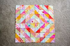 In Color Order: Warm Cool Quilt Along - Piecing the Top | Modern Quilts | Sewing Tutorials