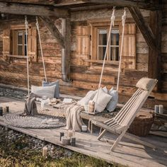 Amazing Winter Chalets For This Season - Home Page Chalet Design, Style At Home, Outdoor Spaces, Outdoor Living, Dream House Interior, Interior Decorating, Interior Design, Wooden House, House In The Woods