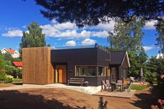 Landsbyarkitektene - Før / etter Home Fashion, Cabin, Mansions, Architecture, House Styles, Oslo, Home Decor, Arquitetura, Decoration Home