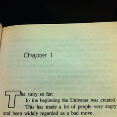 Even non readers should read Douglas Adams - Imgur