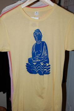 Women's Buddha Shirt  M Sun by LotusRouge on Etsy, $28.00