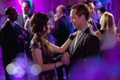 """""""Father Knows Best"""" - Lucy Hale as Aria Montgomery and Chad Lowe as Byron Montgomery in PRETTY LITTLE LIARS on ABC FAMILY."""