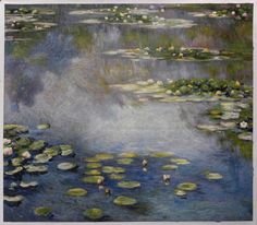 Water Lilies  Claude Monet hand-painted oil by PaintingMania