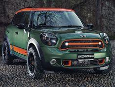 "Mini Cooper S ""Countryman wears C. Company"" I want to turn my Countryman into something like this! Mini Cooper S, Cooper Car, New Mini Countryman, Cooper Countryman, Mini Paceman, Mini Clubman, My Dream Car, Dream Cars, Mini Lifestyle"