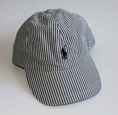 730d240848c Polo Ralph Lauren Seersucker Baseball Hat Cap