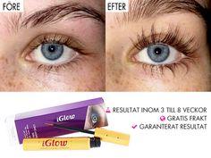iGlow Long Lashes Serum ögonfransserum for långa fransar   iGlow.se