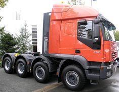 2013 IVECO TRAKKER 480 of Italy