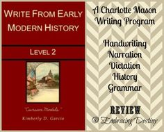 Write from History #hsreview #homeschool #CharlotteMason